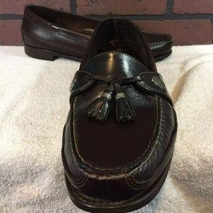 Dexter USA Mens 10.5 WW Brown Tassel Loafers